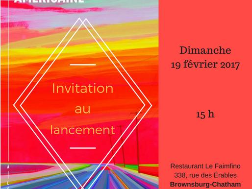 Lancement de livre de François Jobin