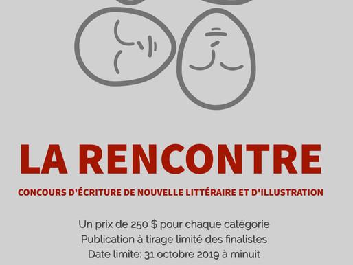 La rencontre - Concours d'écriture de nouvelle littéraire et d'illustration