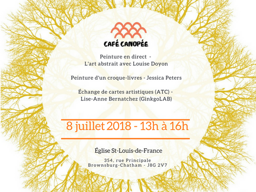 Café Canopée 8 juillet