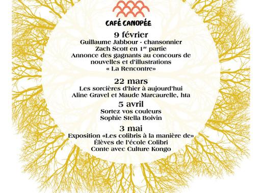 Café Canopée - Hiver-printemps 2020