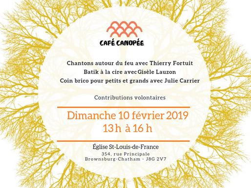 Café Canopée - 10 février 2019