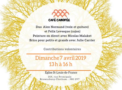 Café Canopée - 7 avril 2019