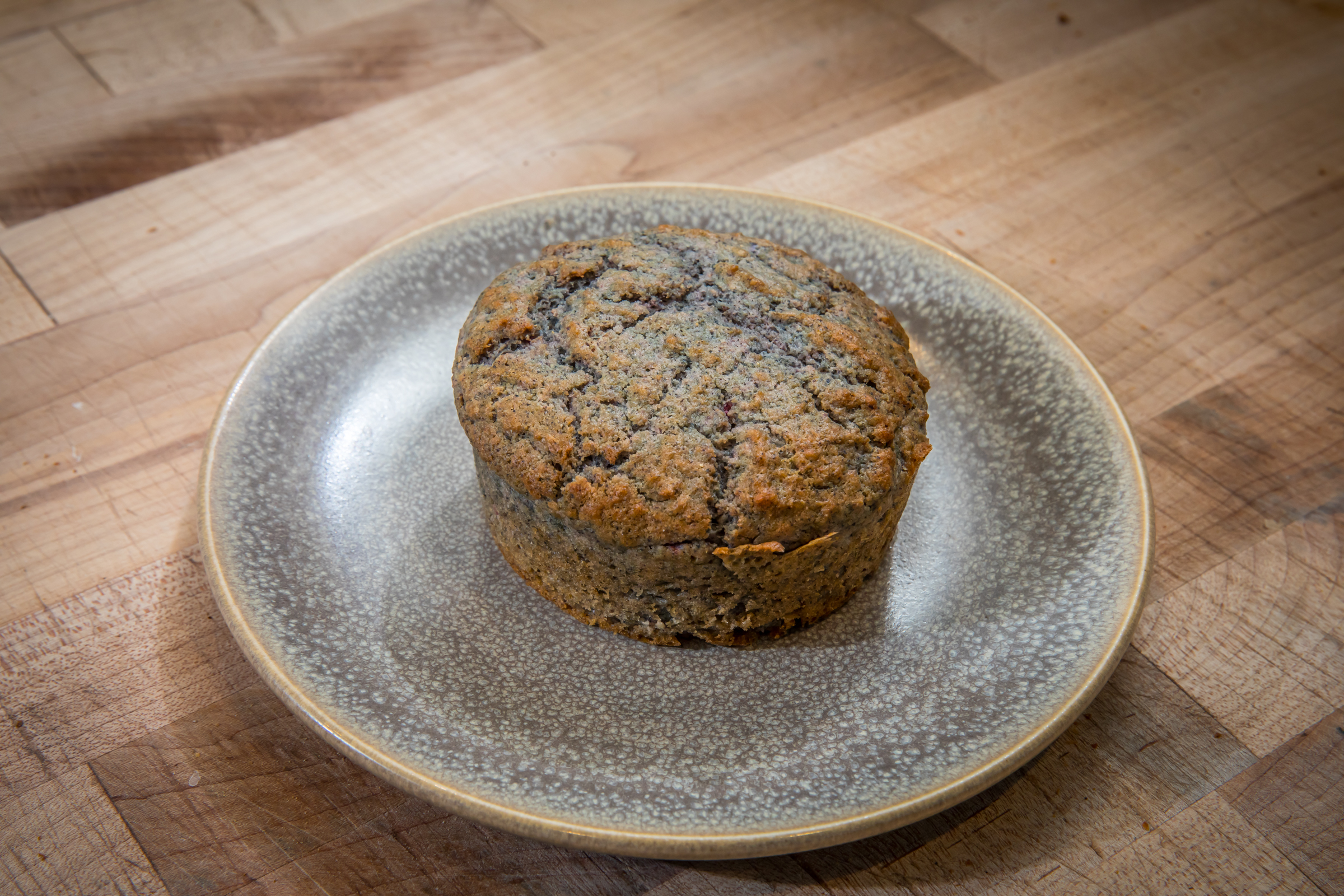 brown butter blue corn bread