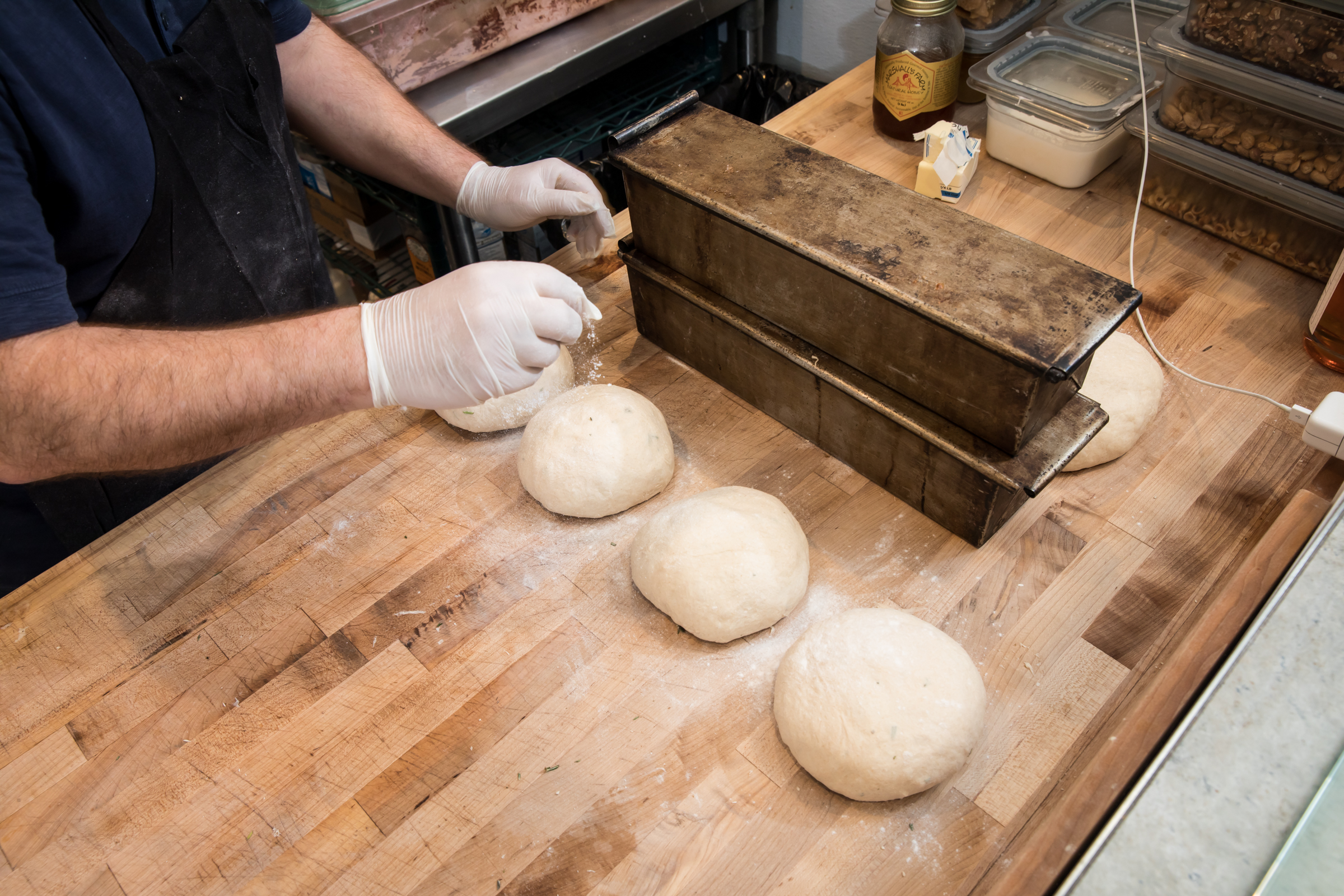 dough production
