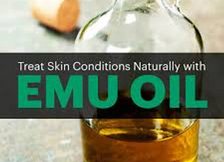 Emu Oil - 1/3  Bottle