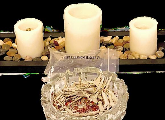 $4 Bag of White Ceremonial Sage - Loose Bundle