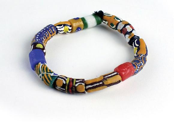 Ghana Trade Bead Bracelets