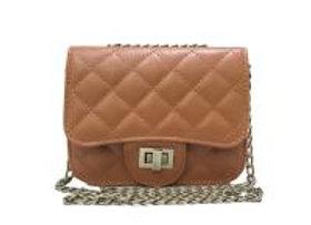 Leather Box Bag  Purse