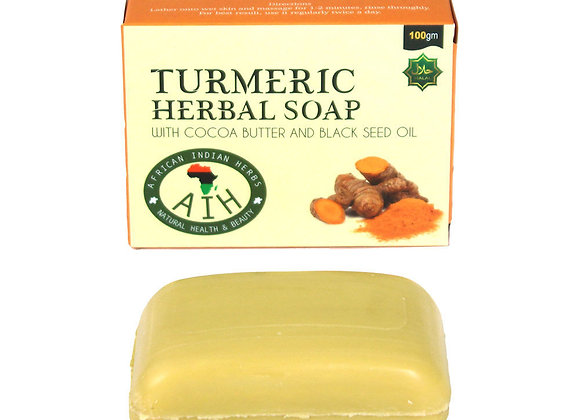 Turmeric Herbal Soap 3.5Oz
