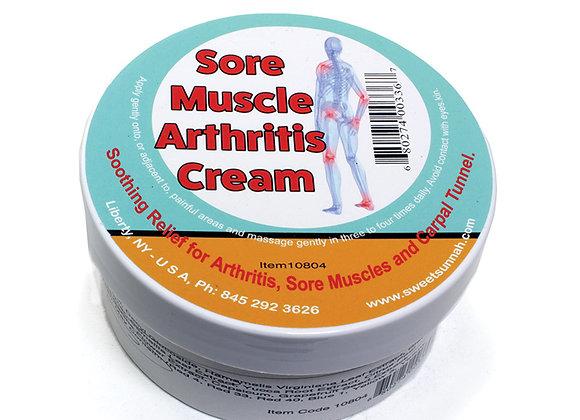 Sore Muscle & Arthritis Relief Cream