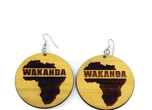 Wakanda Earrings