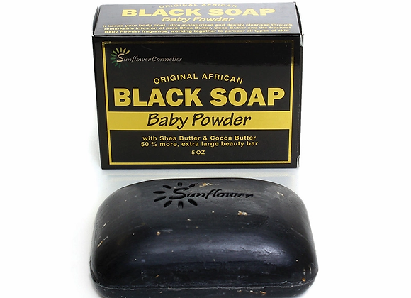 Baby Powder Black Soap