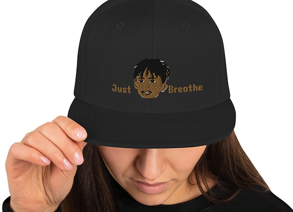 Just Breathe Snapback Hat