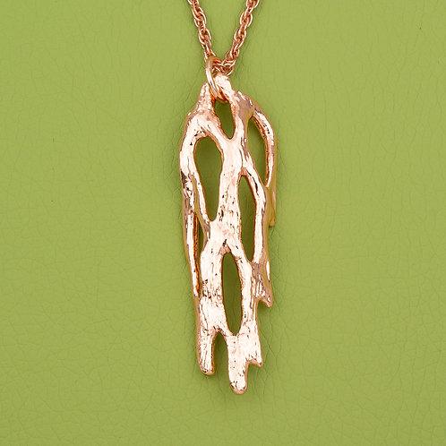 Medium Copper Cholla Pendant
