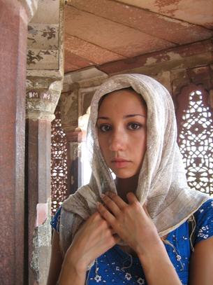 Jennifer in Agra