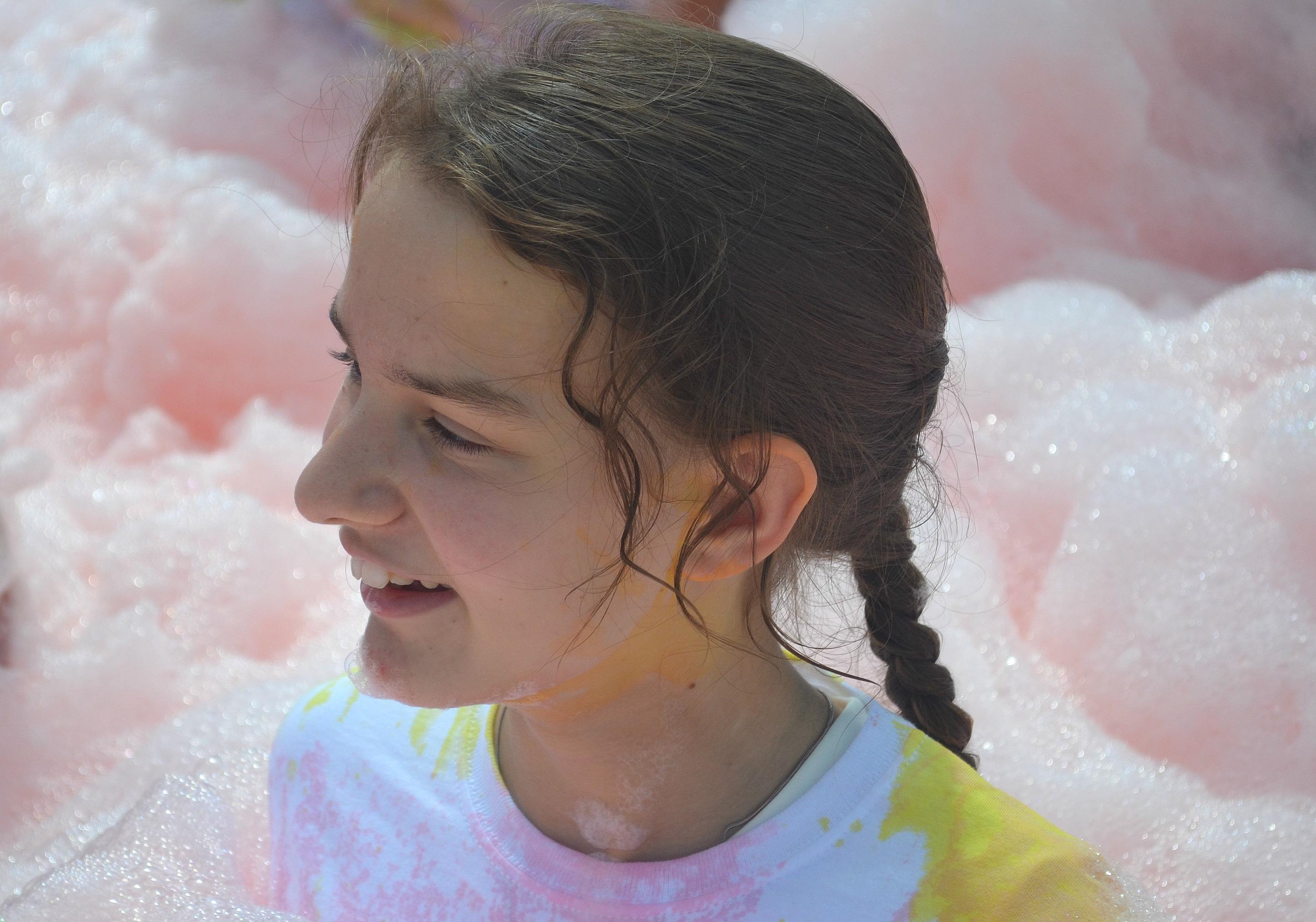 Demelza Bubble Rush, Dartford 2016