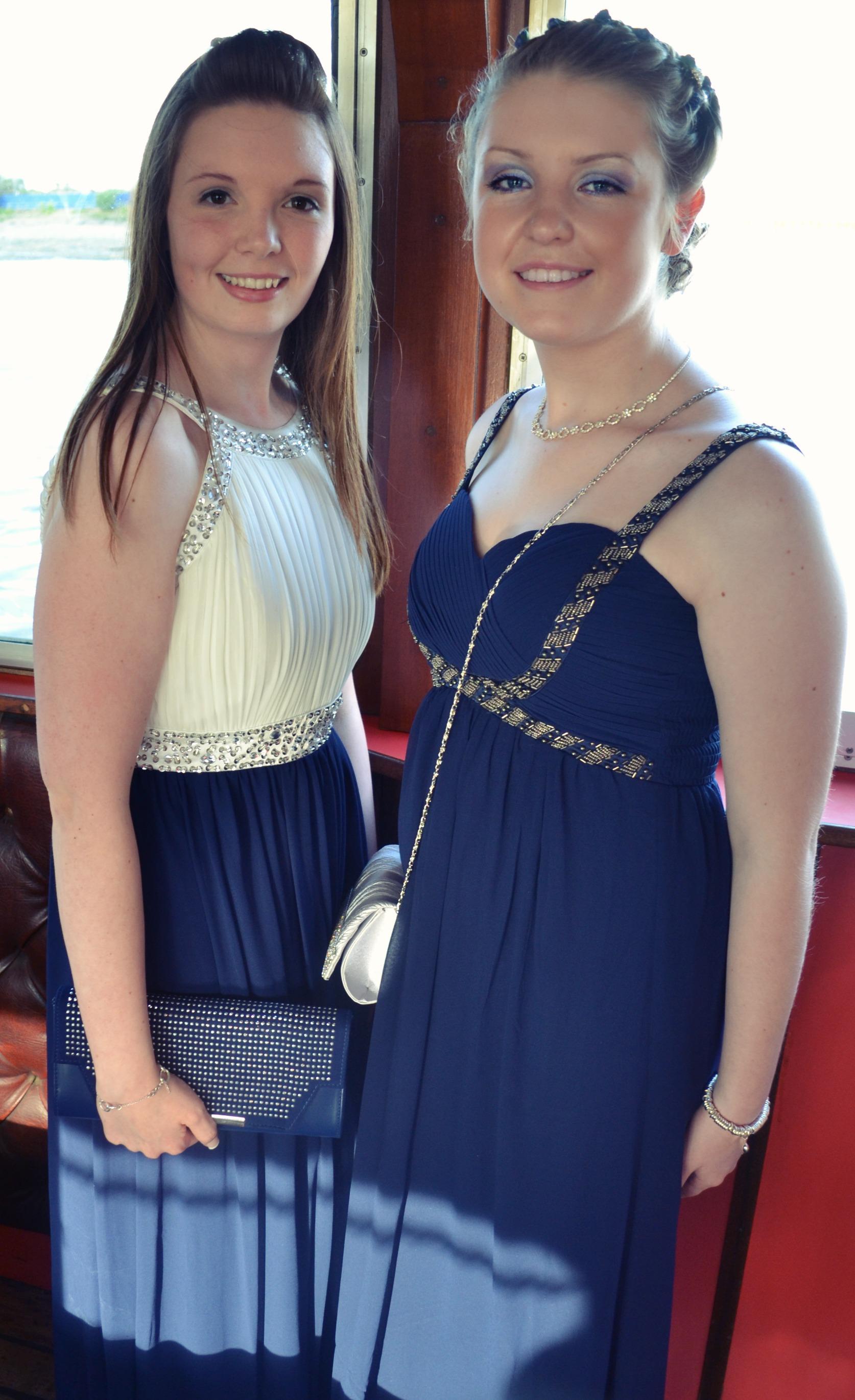 Lauren and Leah