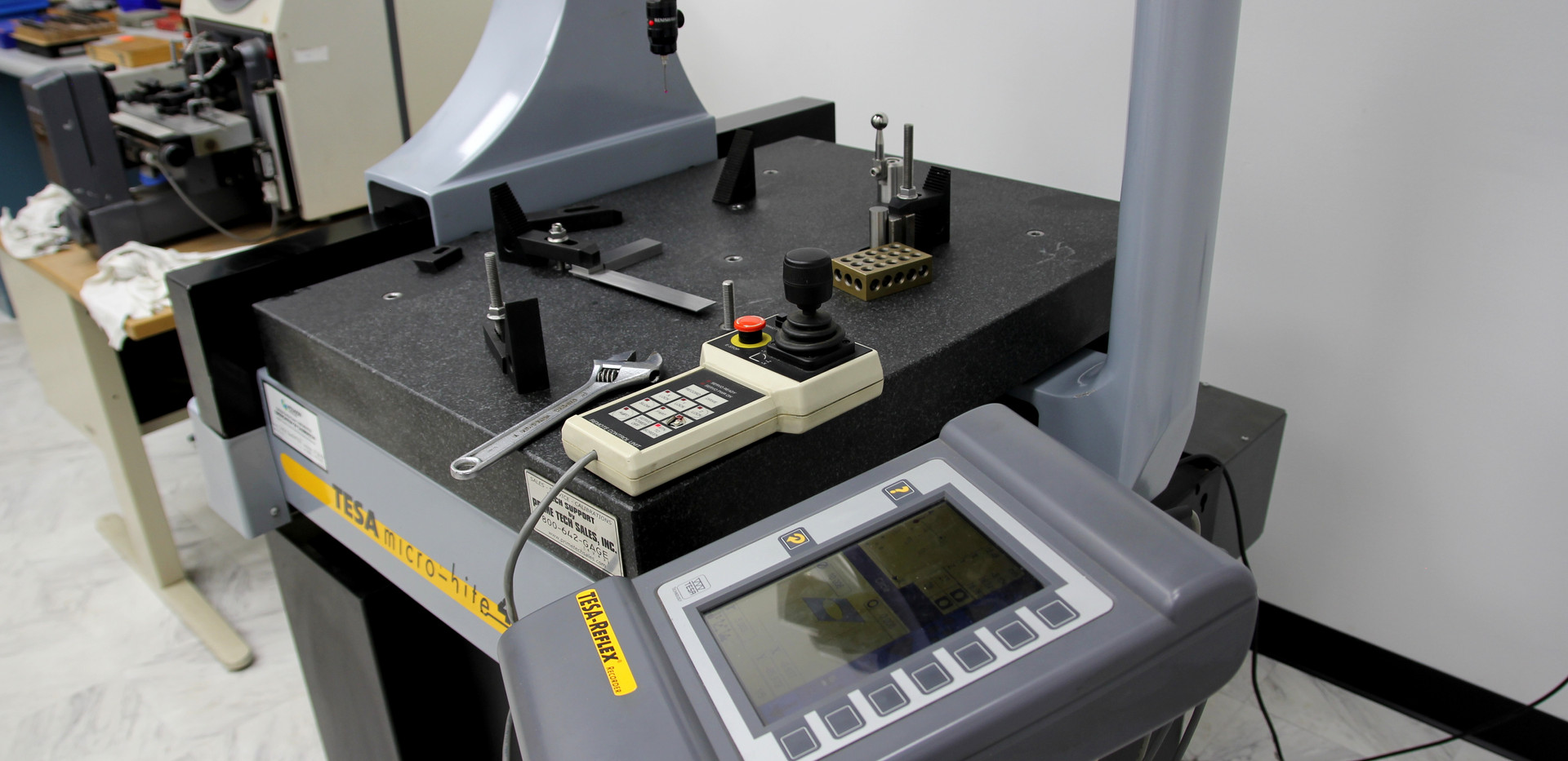 automated CMM inspection machine