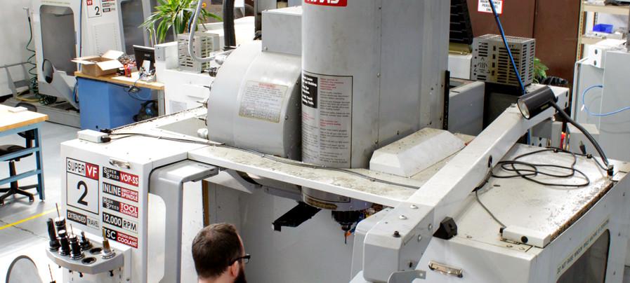 Haas VF-2 SS CNC Machine