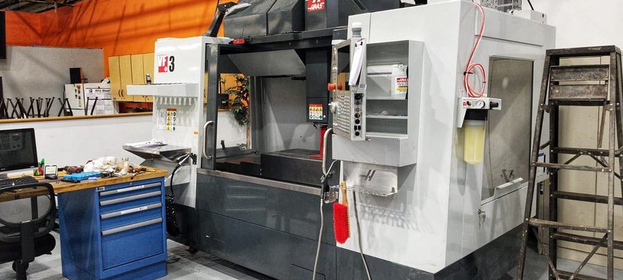 Haas VF-3 with TR-160Y