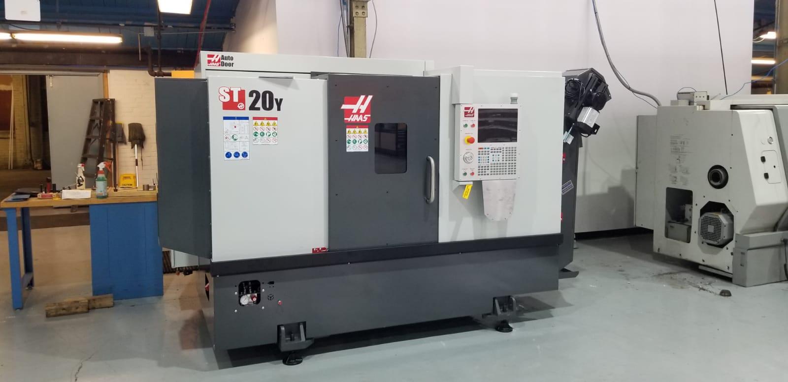 Haas ST20Y CNC lathe