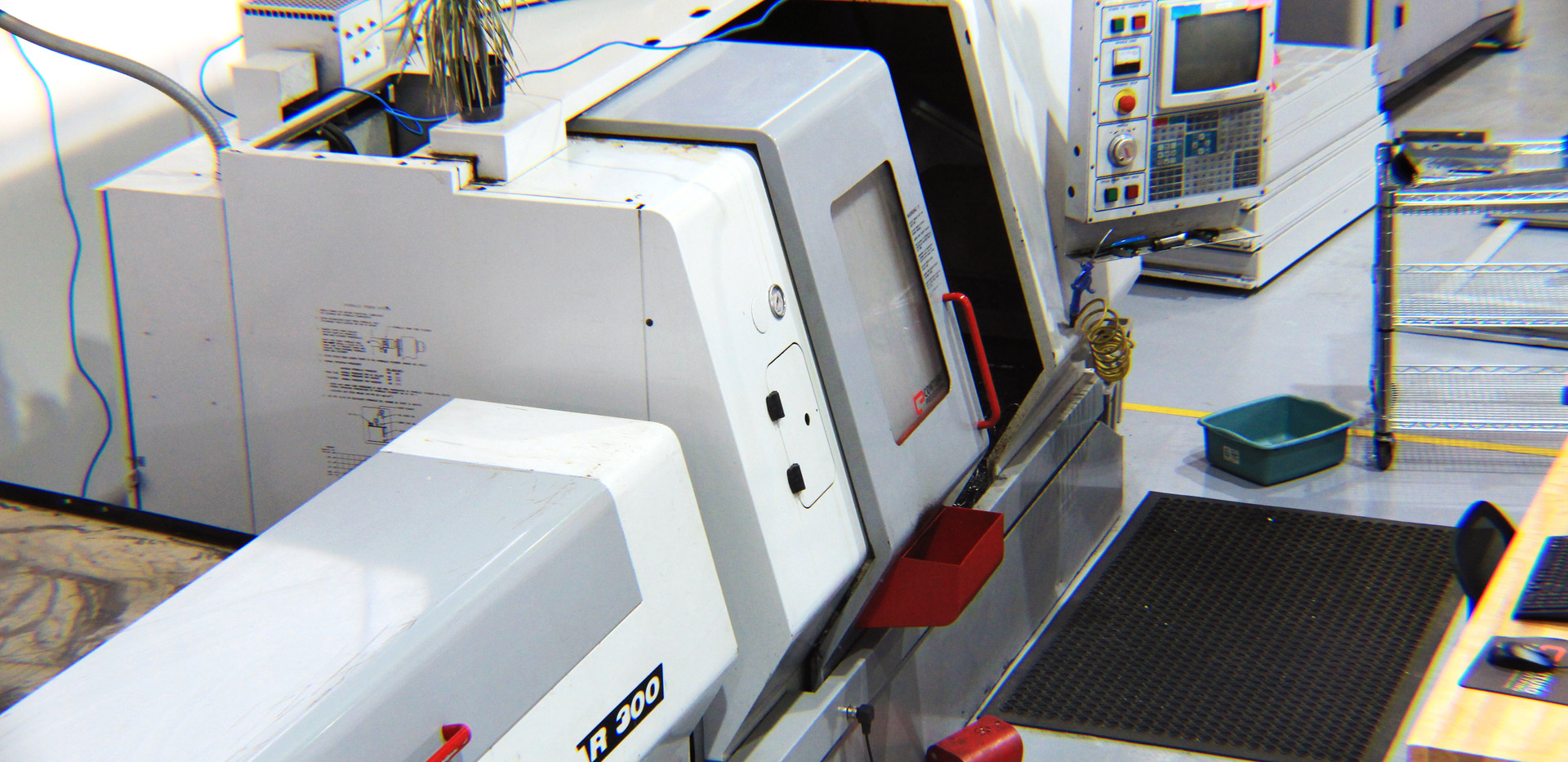 Haas CNC Turning Center with bar feeder