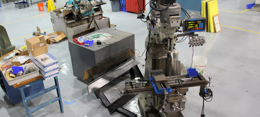 Bridgeport Manual CNC machine