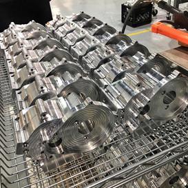 Billet 2-stroke engine cases