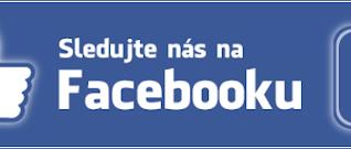 Sledujte nás také na facebooku! 👍🏻