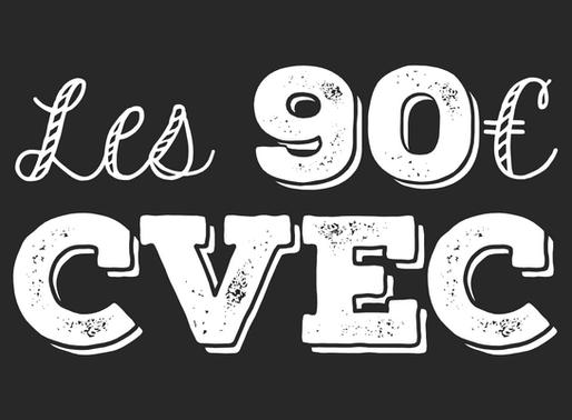 Les 91€ de la CVEC