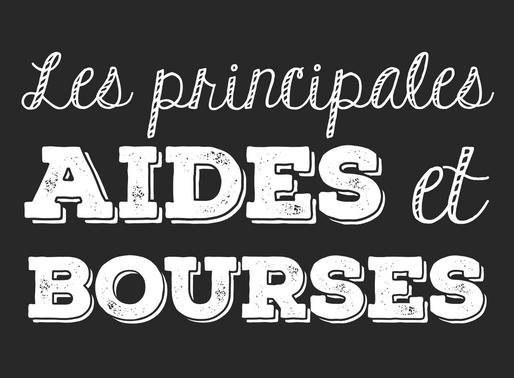 LES PRINCIPALES AIDES ET BOURSES
