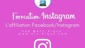 Connecter ses comptes Facebook et Instagram