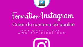 Créer du contenu de qualité pour Instagram