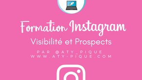 Visibilité, Prospection et gains d'abonnés sur Instagram