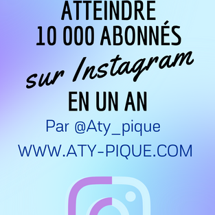 Comment atteindre 10 000 abonnés sur Instagram en un an?