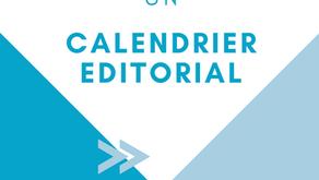 Comment réaliser un calendrier éditorial ?