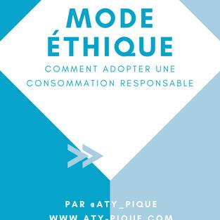 Mode éthique - Comment consommer de façon responsable?
