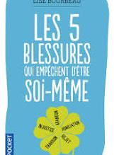 """Livre """"Les 5 blessures de l'âme"""""""