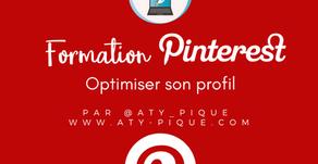 Optimiser son profil sur Pinterest