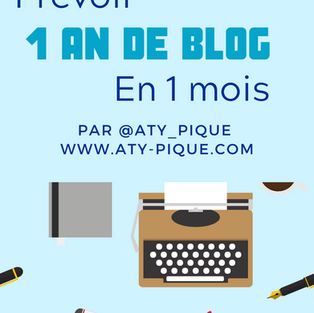 Comment prévoir une année de blog en un mois seulement ?