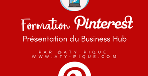 Présentation du Business Hub de Pinterest