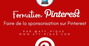 Faire de la sponsorisation sur Pinterest