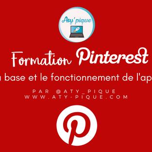 Formation Pinterest - La base et le fonctionnement de l'application
