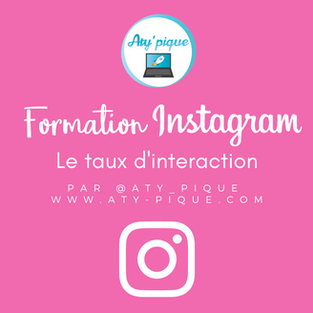 Le taux d'interaction sur Instagram
