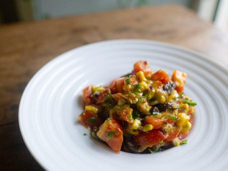 Salada de Tomate com Abacate | Receita