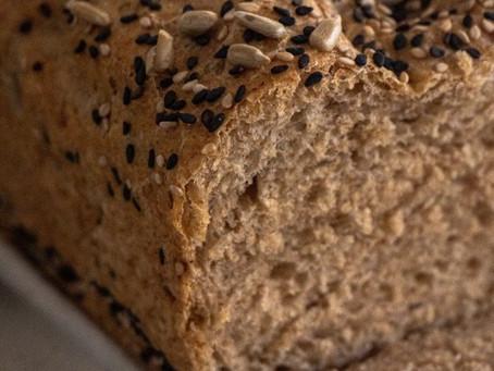 Pão Caseiro Fácil para o Dia a Dia (com Farinha Integral) | Receita