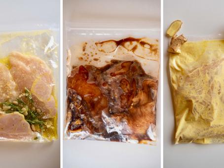 Como preparar refeições congeladas para o mês todo?   Parte 1: Planejamento e Receitas-Base
