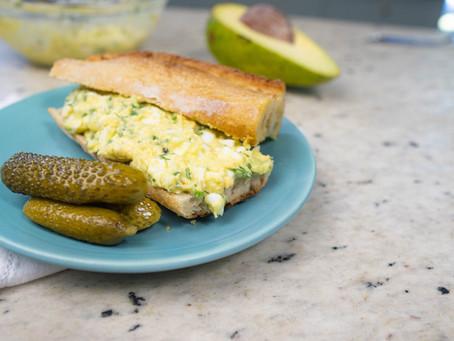 Patê de Ovos com Abacate | Receita