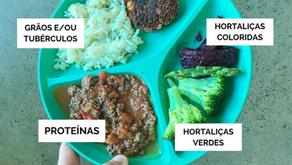 Como montar o pratinho do bebê? | Prato Completo de Almoço