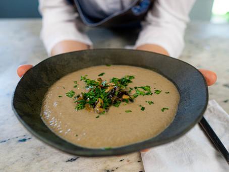 Sopa Cremosa de Cogumelos | Receita